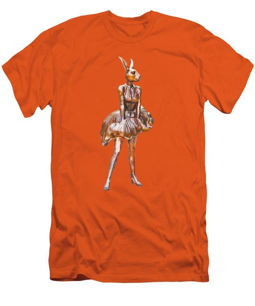 Kangaroo Marilyn Men's T-Shirt (Athletic Fit)