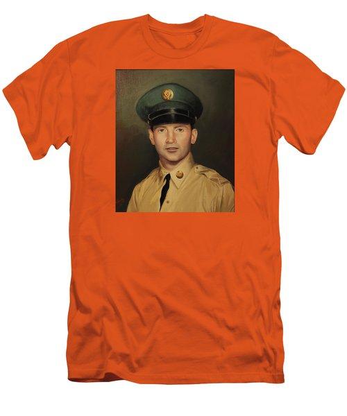 Kenneth Beasley Men's T-Shirt (Slim Fit) by Glenn Beasley