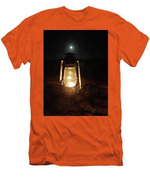 Kerosine Lantern In The Moonlight Men's T-Shirt (Athletic Fit)