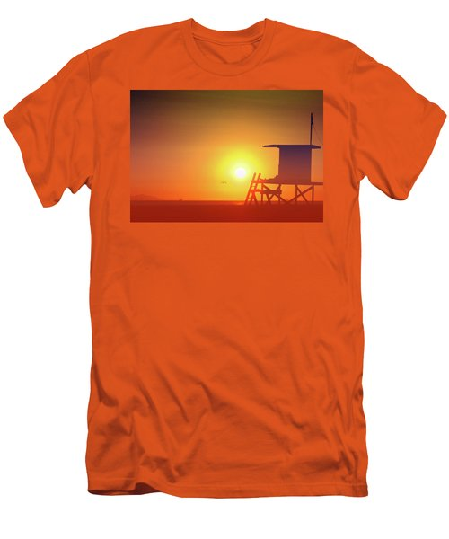 Men's T-Shirt (Slim Fit) featuring the photograph Kicking It by Everette McMahan jr