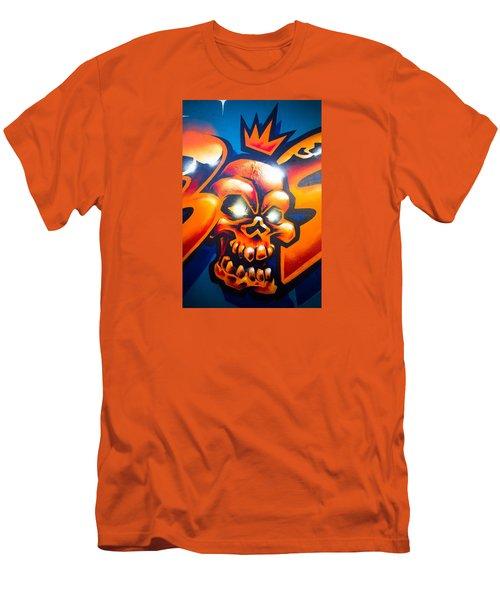 King Men's T-Shirt (Slim Fit) by Mariusz Czajkowski