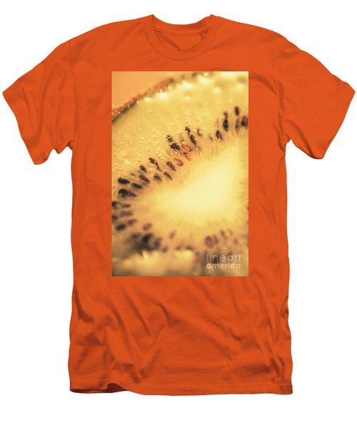Kiwi Margarita Details Men's T-Shirt (Slim Fit) by Jorgo Photography - Wall Art Gallery