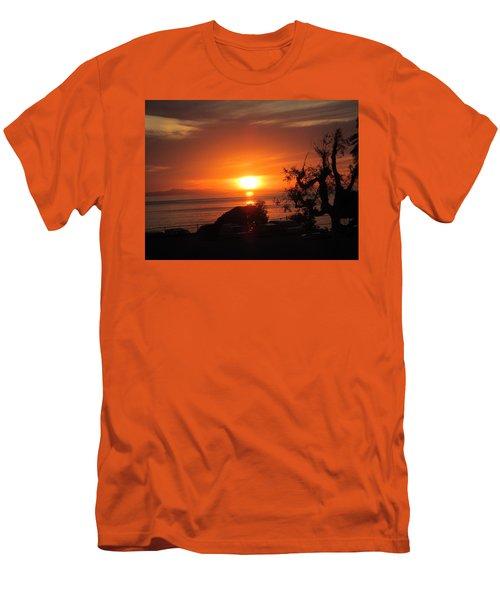 Laguna Beach California Feb 2016 Men's T-Shirt (Slim Fit) by Dan Twyman