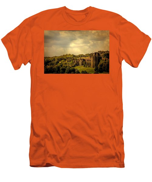 Men's T-Shirt (Slim Fit) featuring the photograph Lancing College by Chris Lord