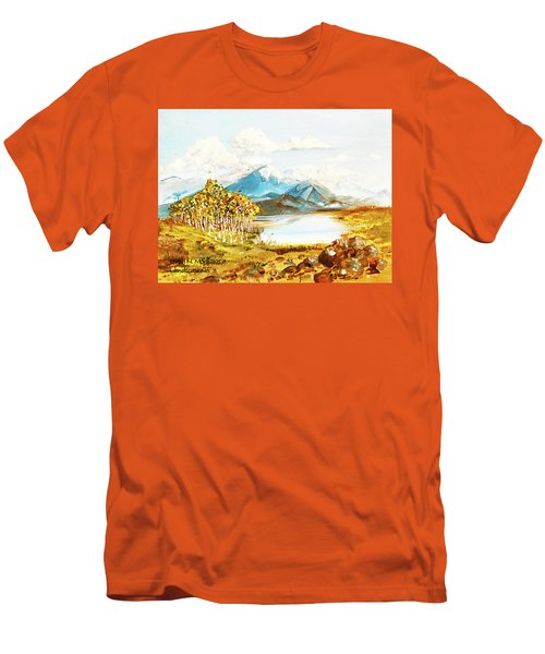 Land Scape No.-3 Men's T-Shirt (Athletic Fit)