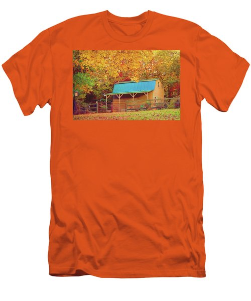 Men's T-Shirt (Athletic Fit) featuring the photograph Last Rays Of The Sun by Bellesouth Studio