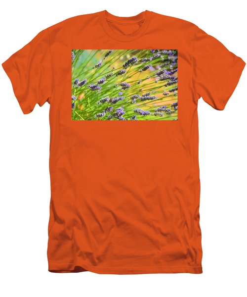 Lavender Men's T-Shirt (Slim Fit) by Josephine Buschman