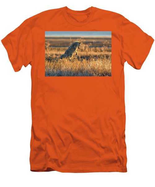 Leap Of Faith Men's T-Shirt (Slim Fit) by Scott Warner