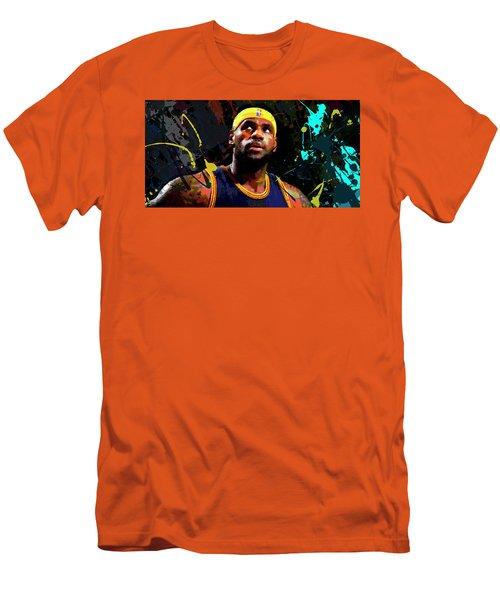 Lebron Men's T-Shirt (Slim Fit) by Richard Day