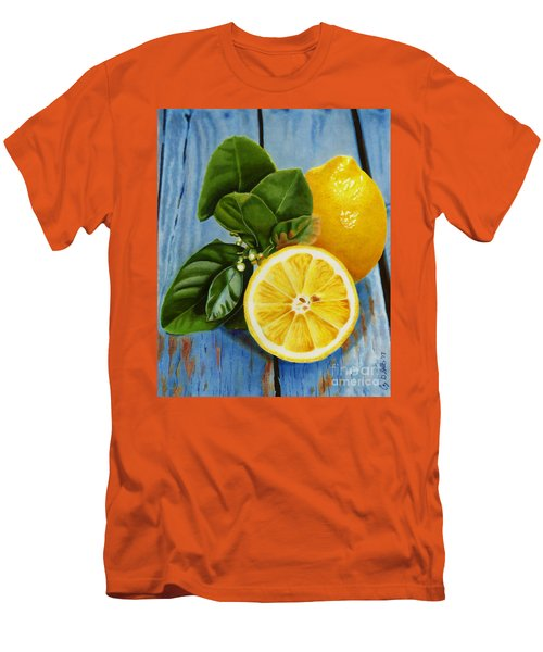 Lemon Fresh Men's T-Shirt (Athletic Fit)
