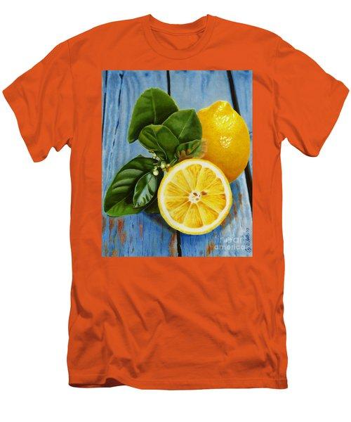 Lemon Fresh Men's T-Shirt (Athletic Fit)