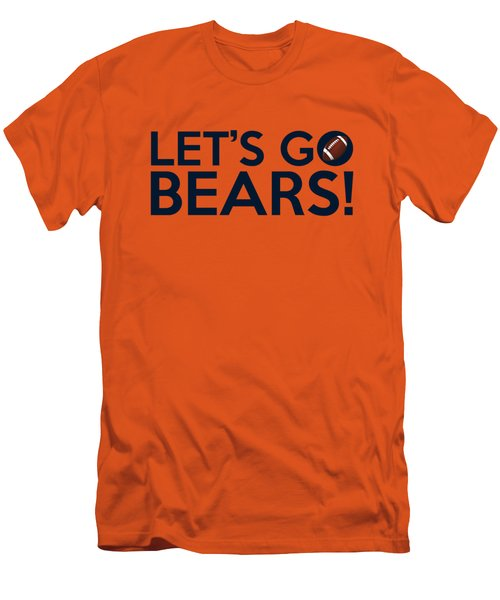 Let's Go Bears Men's T-Shirt (Athletic Fit)