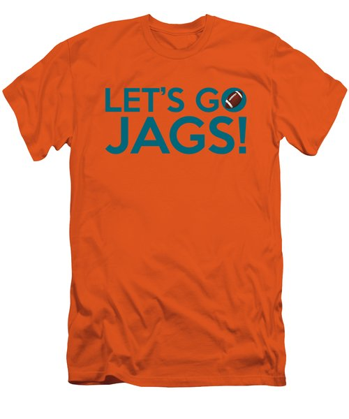 Let's Go Jags Men's T-Shirt (Athletic Fit)