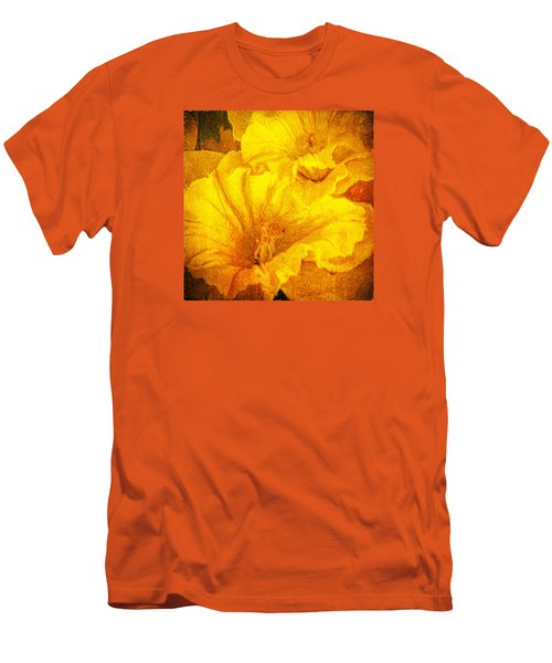 Life In Yellow Men's T-Shirt (Slim Fit) by Lewis Mann
