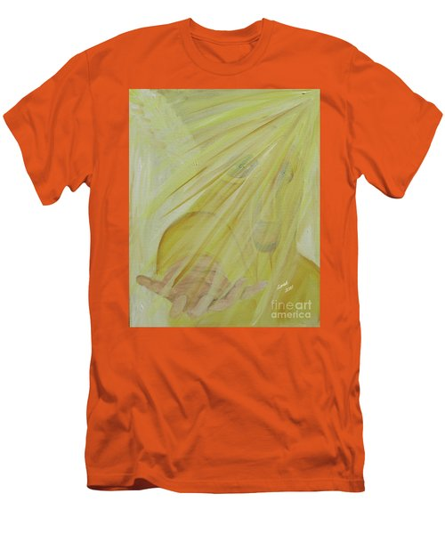 Light Of God Enfold Me Men's T-Shirt (Athletic Fit)