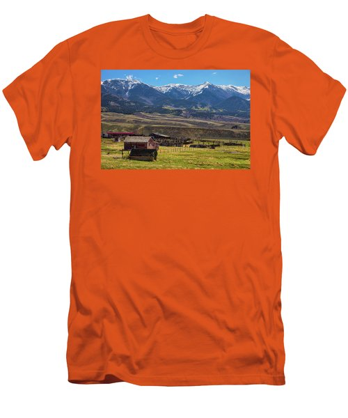 Like An Old Western Movie Men's T-Shirt (Slim Fit) by James BO Insogna