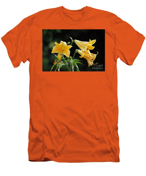 Lily Lily Where Art Thou Lily Men's T-Shirt (Athletic Fit)