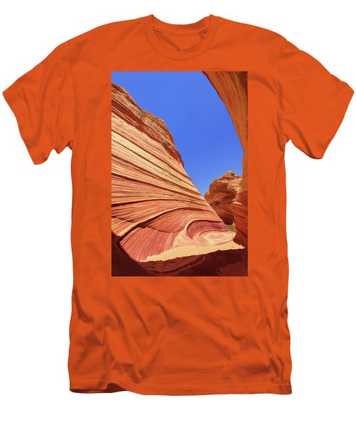 Men's T-Shirt (Slim Fit) featuring the photograph Lines by Chad Dutson