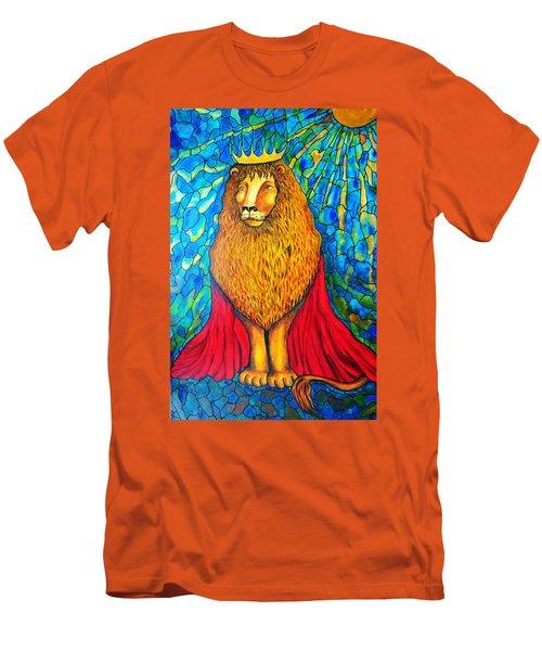 Lion-king Men's T-Shirt (Athletic Fit)