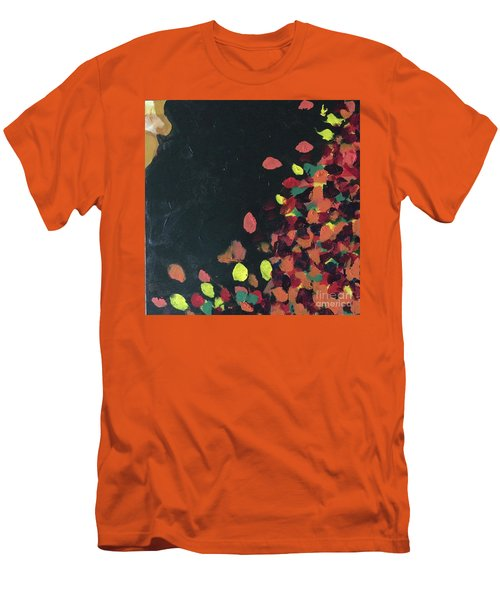 Men's T-Shirt (Athletic Fit) featuring the painting Lioness' Pride 6 Of 6 by Donald J Ryker III
