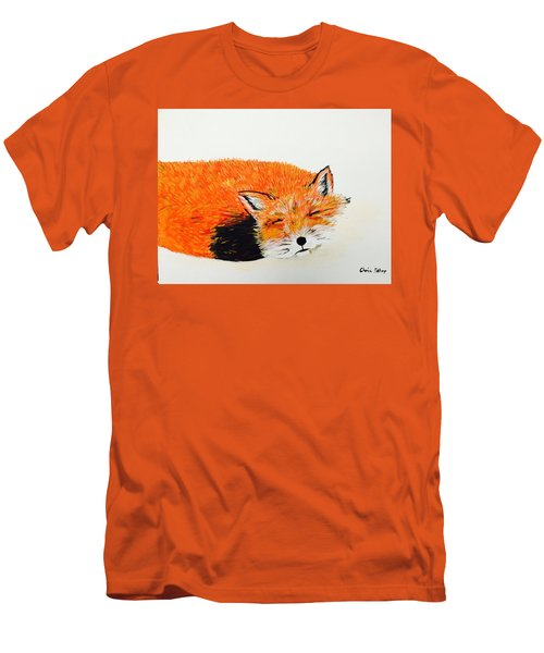 Little Fox Men's T-Shirt (Athletic Fit)