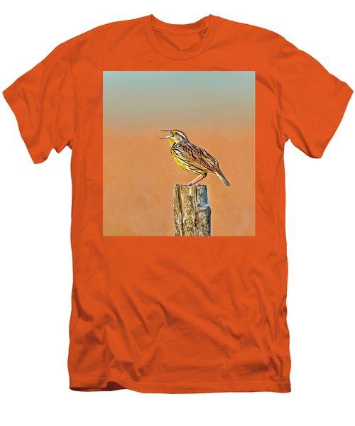 Little Songbird Men's T-Shirt (Athletic Fit)