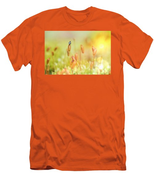 Little World Men's T-Shirt (Slim Fit) by Nikki McInnes