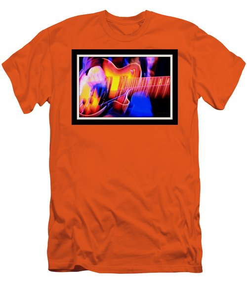 Men's T-Shirt (Slim Fit) featuring the photograph Live Music by Chris Berry