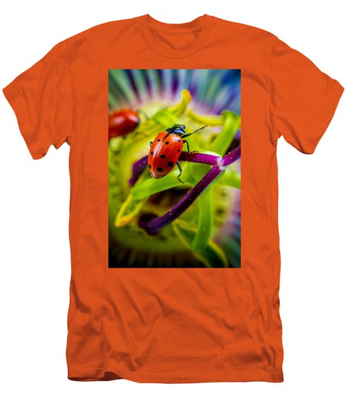 Look At The Colors Over There. Men's T-Shirt (Athletic Fit)