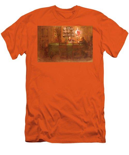 Los Deberes 1898 Men's T-Shirt (Athletic Fit)