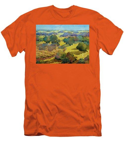 Los Olivos Impression Men's T-Shirt (Athletic Fit)
