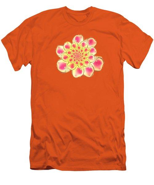 Lotus Men's T-Shirt (Slim Fit) by Anastasiya Malakhova
