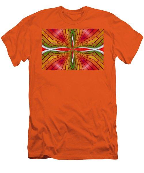 Lovely Geometric  Men's T-Shirt (Athletic Fit)