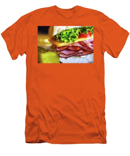 Lunch Is Served Men's T-Shirt (Athletic Fit)
