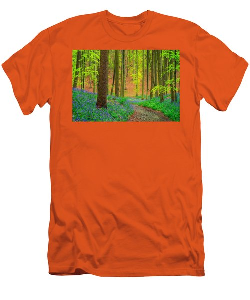 Magical Forest Men's T-Shirt (Slim Fit) by Maciej Markiewicz