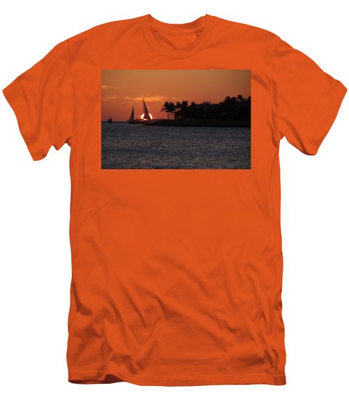 Mallory Square Sunset 2018 Men's T-Shirt (Athletic Fit)