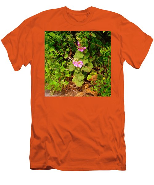 Mallow Pink Men's T-Shirt (Athletic Fit)