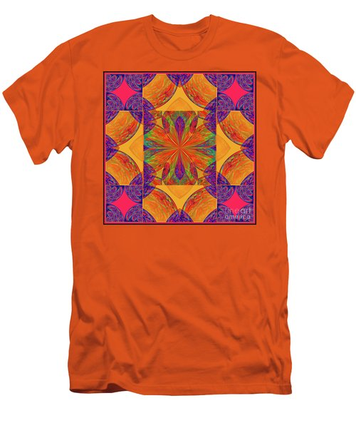Mandala #2  Men's T-Shirt (Athletic Fit)