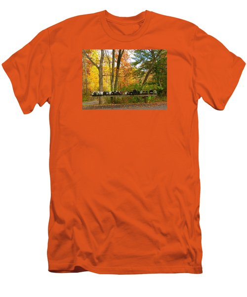 Men's T-Shirt (Slim Fit) featuring the photograph Many Shapes And Sizes by Jeanette Oberholtzer