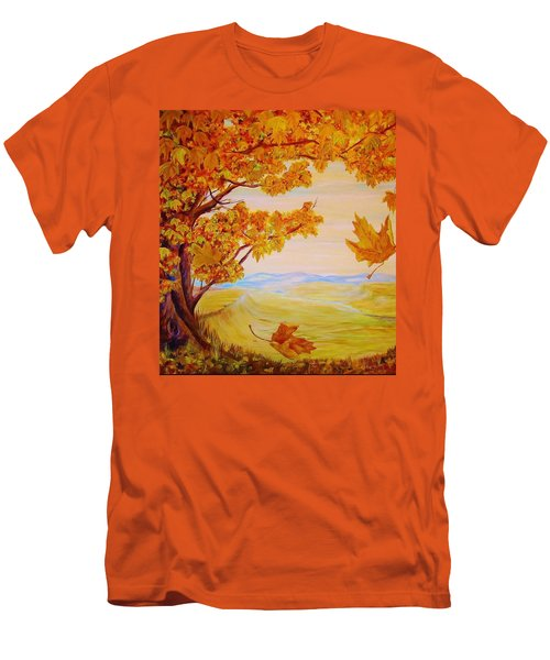 Maple One Fifty Men's T-Shirt (Slim Fit) by Cathy Long