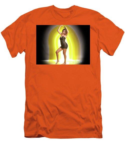 Maria Glow Men's T-Shirt (Athletic Fit)