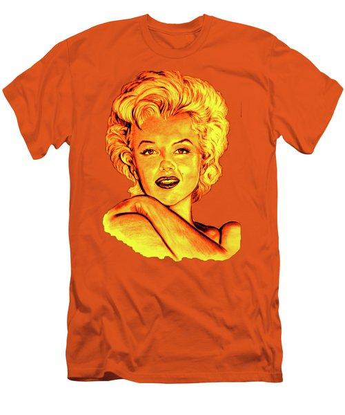 Marilyn Men's T-Shirt (Slim Fit) by Gitta Glaeser