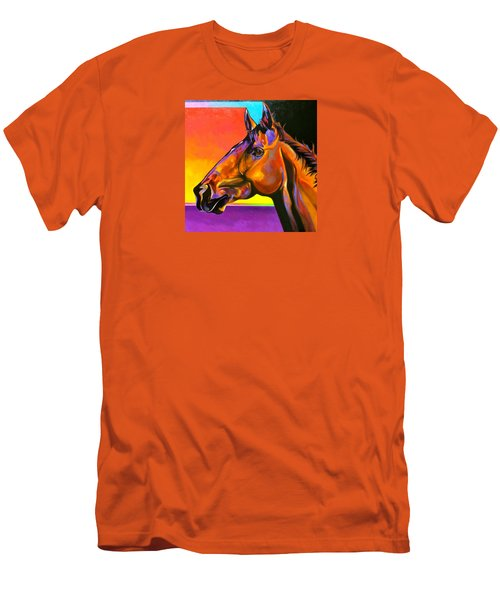 Men's T-Shirt (Slim Fit) featuring the painting Maurice by Bob Coonts