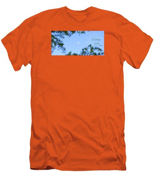 Men's T-Shirt (Slim Fit) featuring the photograph Time Well Spent by David  Norman