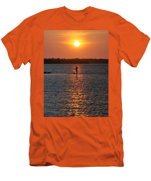 Men's T-Shirt (Slim Fit) featuring the photograph Me Time by John Glass