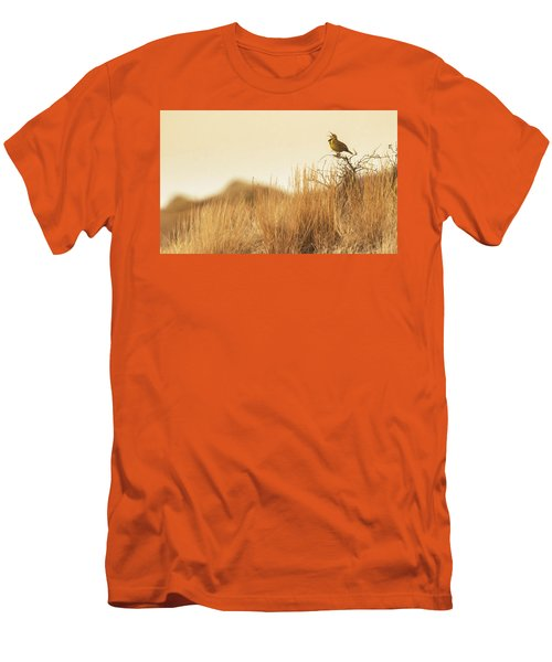 Meadowlark  Men's T-Shirt (Athletic Fit)