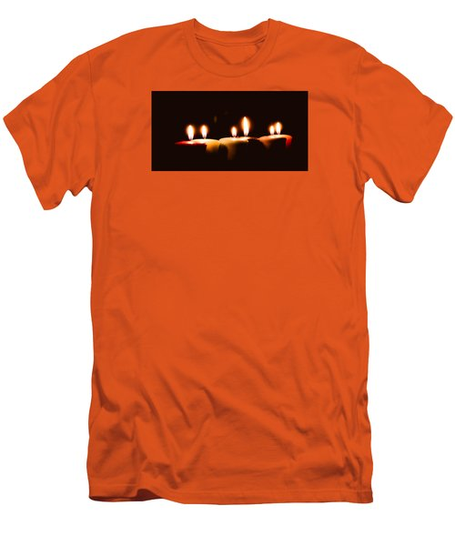 Meditation Men's T-Shirt (Slim Fit) by Hyuntae Kim