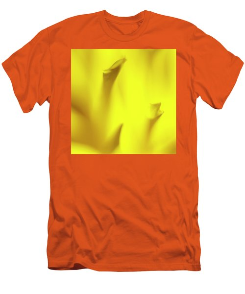 Mellow Yellow Men's T-Shirt (Slim Fit) by Tony Locke