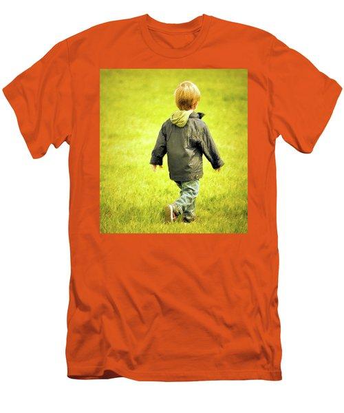 Memories... Men's T-Shirt (Slim Fit) by Barbara Dudley