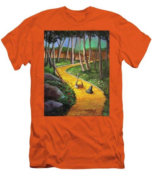 Memories Of Oz Men's T-Shirt (Slim Fit) by Randy Burns